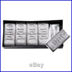 1 Kilo PAMP Suisse Silver Cast Bar. 999 Fine (withAssay)