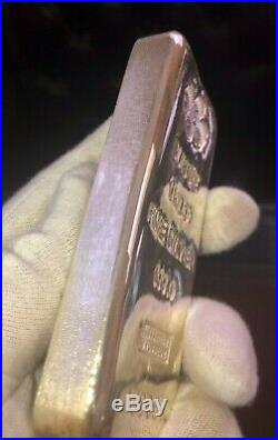1 Kilo Pamp Suisse. 999 Silver Bar. EXTRA GLOSSY VARIETY. Shines like a Jewel
