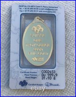 1 OZ PAMP Suisse Gold Fortuna Design Gold Bar