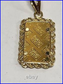 1 gram Gold Bar PAMP Suisse Fortuna 999.9 Fine in Charm Case (GS)