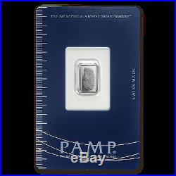 1 gram Palladium Bar PAMP Suisse (In Assay) SKU #96239