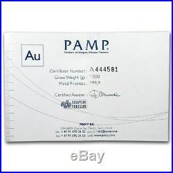 1 kilo Gold Bar PAMP Suisse SKU #73950