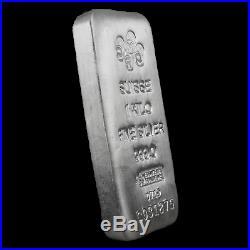 1 kilo Silver Bar PAMP Suisse (Serialized) SKU#196344