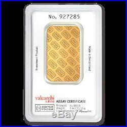 1 oz Gold Bar Credit Suisse (In Assay) SKU #11950