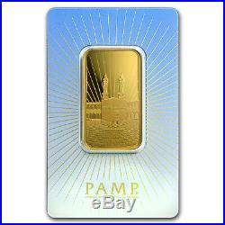 1 oz Gold Bar PAMP Suisse Religious Series (Ka' Bah, Mecca) SKU #94436