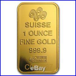 1 oz Gold Bar PAMP Suisse Religious Series (Romanesque Cross) SKU #94435