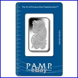 1 oz PAMP Suisse Palladium Bar. 9995 Fine