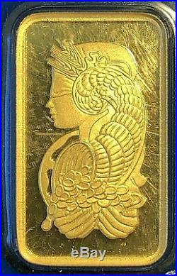 10 Gram Gold Bar Pamp Suisse Lady Fortuna Sealed(In Assay)
