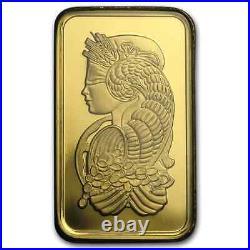 10 gram Gold Bar PAMP Suisse Fortuna Veriscan (In Assay)
