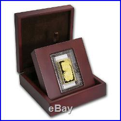 10 oz Gold Bar PAMP Suisse Lady Fortuna Veriscan (withAssay)