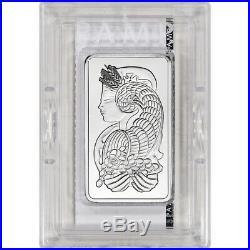 10 oz. Platinum Bar PAMP Suisse Fortuna 999.5 Fine in Plastic Case with Assay