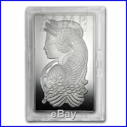 10 oz Silver Bar PAMP Suisse (Fortuna, In Capsule withAssay) SKU #65699