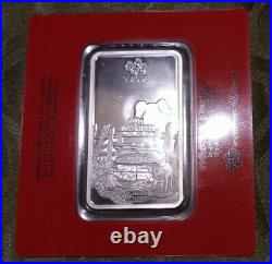 100 Gram Pamp Silver Bar (Sealed & Assayed Year Of The Pig 2019)