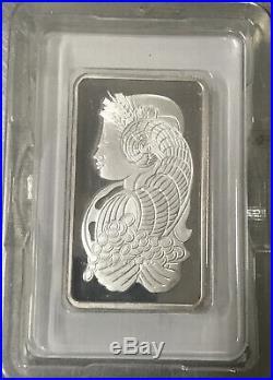 100 Gram Pamp suisse Silver bullion bar