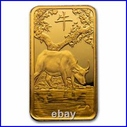 100 gram Gold Bar PAMP Suisse Year of the Ox (In Assay) SKU#225391
