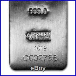 100 oz Silver Bar PAMP Suisse (Serialized) SKU#196345