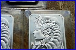 1984 Vintage PMAP Suisse Horn of Plenty Silver Bar Rare