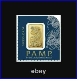 (2) 1 gram Gold Bar Pamp Suisse Fortuna with VERISCAN. 9999 BEST PRICE ON EBAY