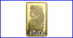 2.5 Gram Bar Of Pamp Suisse Gold, WithVeriscan, 9999Fine, No Reserve