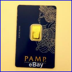 2.5 Gram Pure Gold PAMP Suisse