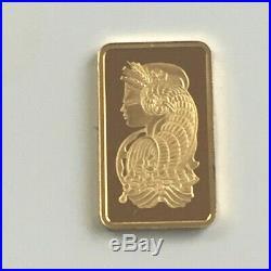 2.5 g pamp suisse loose bar 24 ct gold bullion bar