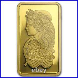 2.5 gram Gold Bar PAMP Suisse Lady Fortuna Veriscan (In Assay)