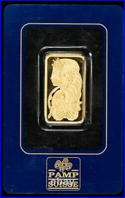 2 Tolas. 9999 Fine Gold Bar. 75 ozt Pamp Suisse Fortuna Assay Card SKU-G1193