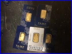 20 gram Gold Bar PAMP Suisse Fortuna Veriscan (In Assay)
