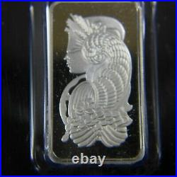20 gram PAMP Suisse Lady Fortuna Platinum Bar. 9995 Fine (In Assay)