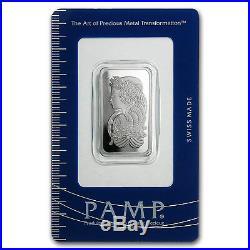 20 gram Platinum Bar PAMP Suisse (In Assay) SKU #96422