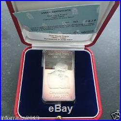 2007 Malta Lombard Bank Silver Ingot 100g Dun Gorg Preca