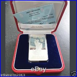 2009 Malta Lombard Bank Silver Ingot 100g Annus Paulinus