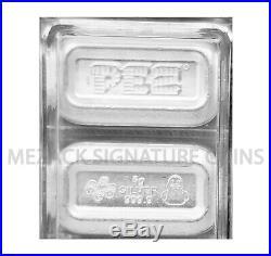 30 Gram PAMP Silver Rev Proof (6) Bar PEZ Wafers w Rubber Duck Dispenser OP