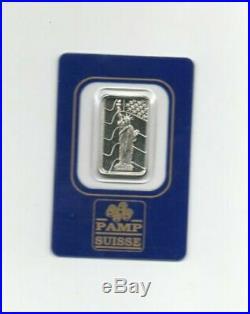 5 Grams Pamp Suisse Palladium Bar SEALED Assay Certificate No. 000267