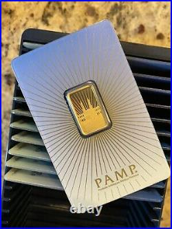 5 gram Gold Bar PAMP Suisse Faith Mecca Gold Sealed Assay RARE
