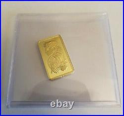 5 gram Gold Bar PAMP Suisse Fortuna 999.9 Fine