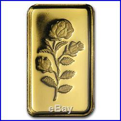 5 gram Gold Bar PAMP Suisse Rose (In Assay) SKU#71979