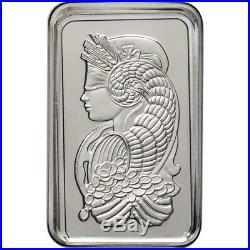 5 gram Platinum Bar PAMP Suisse Fortuna 999.5 Fine in Sealed Assay