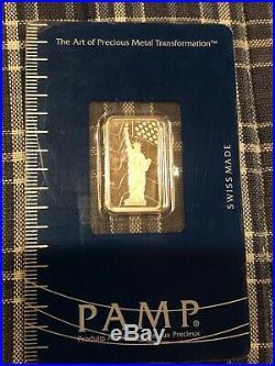5 gram Platinum Bar PAMP Suisse (In Assay)