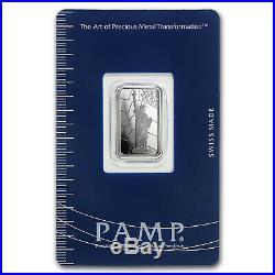 5 gram Platinum Bar PAMP Suisse Statue of Liberty (In Assay) SKU #93595