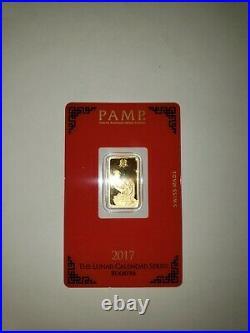5 gram pamp gold bar