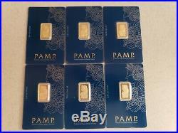 5 gram pamp pure gold bar (1 bar)