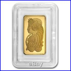 5 oz Gold Bar PAMP Suisse Lady Fortuna (withAssay) SKU #59448