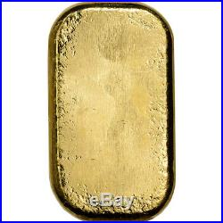 50 gram Gold Bar PAMP Suisse Poured 999.9 Fine with Assay