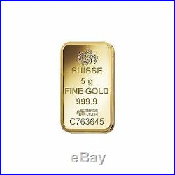 5gram Pure. 9999 Gold Love Always Pamp Suisse Sealed Bar $298.88 Sale