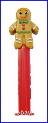 6 Piece Set PAMP Gingerbread Man Pez Dispenser 5g Silver Bar GEM Reverse Proof
