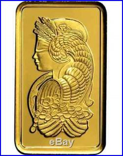 BUY HEREINVESTMENT/GIFT! 5 gram Gold PAMP Suisse Fortuna Bar Assay+Extras