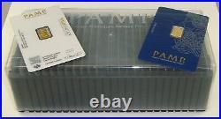 Brand New Box of (25) Pamp Suisse 1 Gram. 9999 Fine Gold Fortuna Bullion Bars