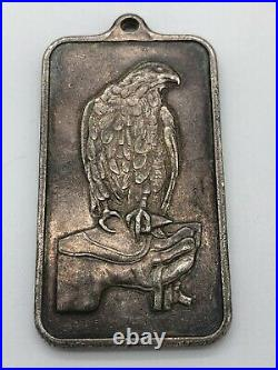 Exremely Rare Pamp Suisse 1oz Silver Bar One Troy Ounce Pendant Type Charm