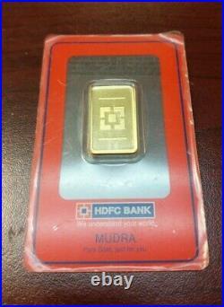 HDFC BANK 10g FINE GOLD BAR 999.9 certified assayer